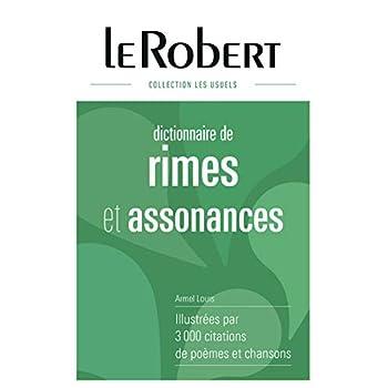 Dictionnaire des rimes et assonances