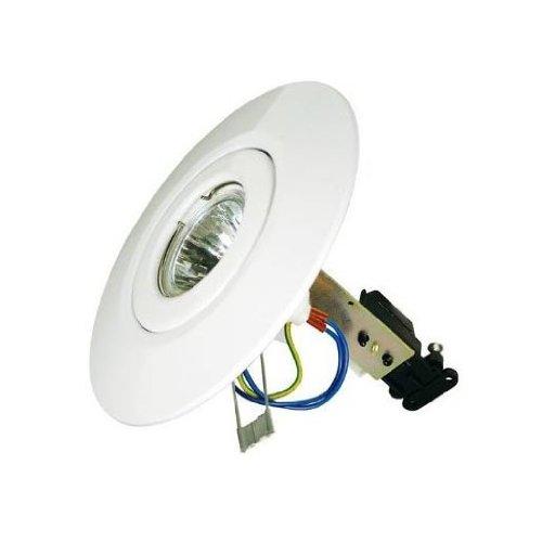 White Downlighter Conversion Kit – Convert Downlights to GU10/MR16