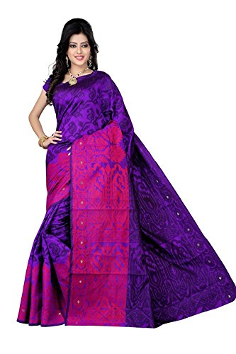 Makeway Tissue Saree (556-1216_Purple)