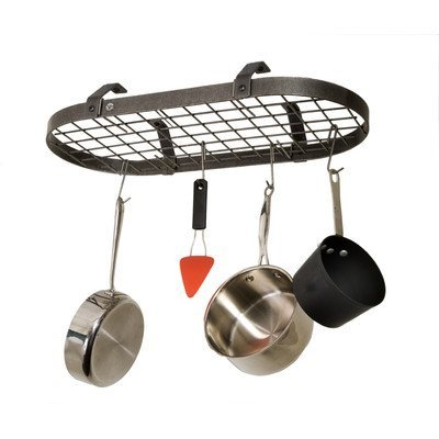 Enclume Oval Pot Rack (Low Ceiling Oval Hanging Pot Rack by Enclume)