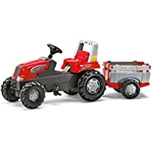 Rolly Toys 80 026 1 Rollyjunior Rt - Tractor a pedales con remolque