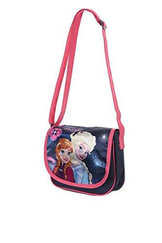 e67e4345206b2 Disney Frozen - Die Eiskönigin völlig unverfroren (4912) Kinder Mädchen  Umhängetasche Messenger Bag Schultertasche
