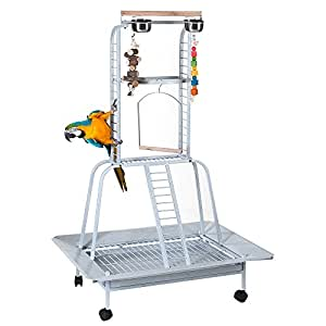PARROT STAND MACAW AFRICAN GREY PLAYSTAND CLIMBER 1
