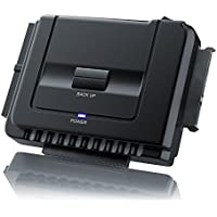 Aplic - USB 3.0 convertidor IDE/SATA con alimentación | compatibles Windows XP/Vista / 7/8 / Mac OS 10.X (Modo OTB no es Compatible)