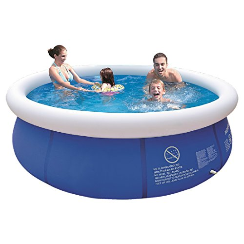 Jilong Marin Blue 300 Set - Quick-up Pool Set mit Filterpumpe 300x76cm