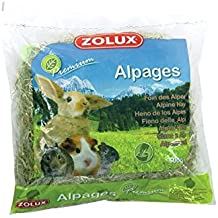 Zolux - Heno de pasto premium para roedores, bolsa de 500 kg