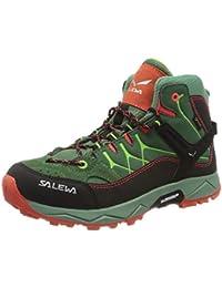 SALEWA Jr ALP Trainer Mid GTX, Zapatos de High Rise Senderismo Unisex Niños