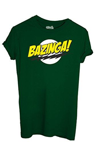 T-SHIRT BAZINGA BIG BANG THEORY-SERIE TV by