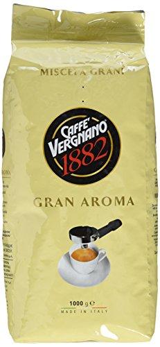 Caffè Vergnano 1882 Gran Aroma Ganze Bohnen, 1er Pack (1 x 1 kg)