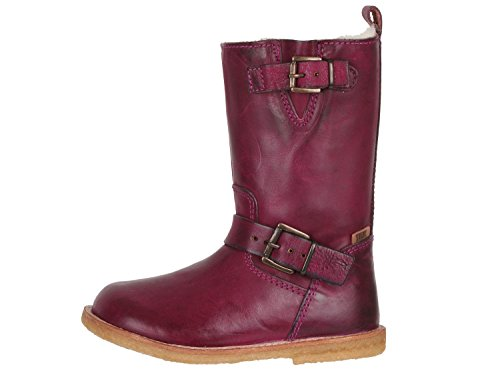Bisgaard 60502.215.86 Kinder Warmfutter Stiefel in Mittel Bordo