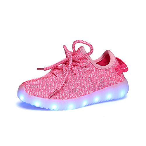 ipretty-led-luminous-shoes-kids-boys-girls-lace-up-trainers-sportswear-casual-spinning-sneaker-coupl