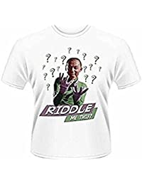 BATMAN - THE RIDDLER - RIDDLE ME THIS? - OFFICIAL MENS T SHIRT