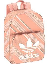 Bolso Adidas Mujer Animal Print Mochilas para Mujer Rosa
