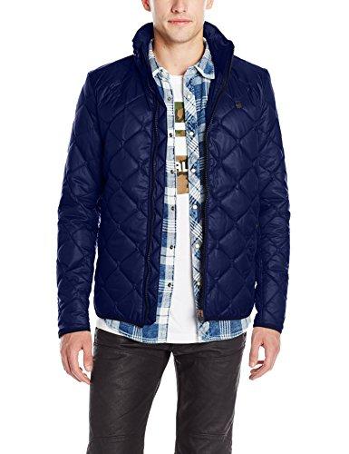 G-Star Edla Overshirt L/s, Blouson Homme Bleu (imperial blue)
