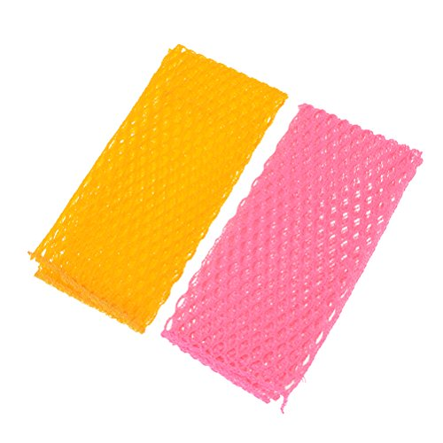 SuxiDi Dish Washing Net Cloths Scourer,Odor Free,Quick Dry,Perfect Scrubber for Washing Dishes,2PCS