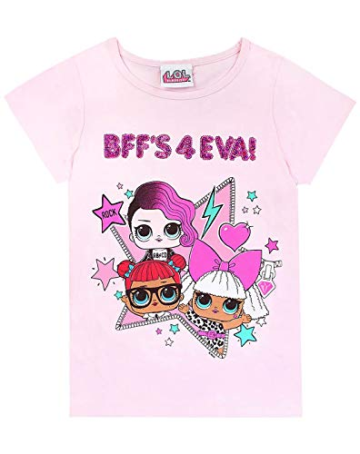 37bcfe84 Dolls BFF's 4 EVA Girls T-Shirt Reversible Sequins Pink (7