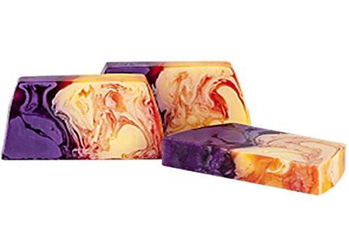 Passion Fruit Handmade Natural Soap Bar - Glycerin Soap - Vegan - Cruelty Free - Skin moisturising - Gift - Avocado Oil - Fruit - 100g