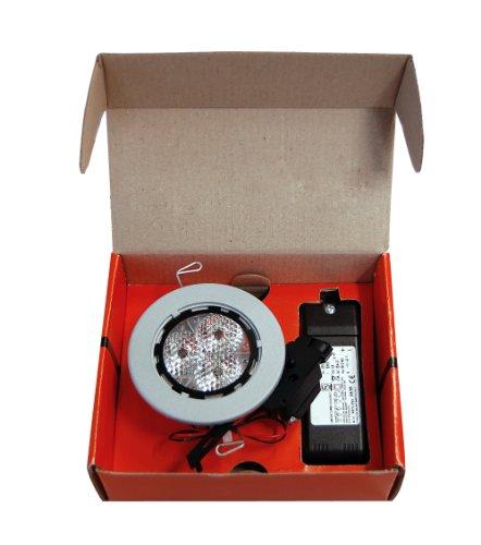 KIT 1 SIRIO 0643 LED BIA 3X3W-31 CTL BIA 220643140