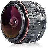 Meike 6.5mm Ultra Wide F/2.0 Fisheye Lens For Fujifilm Mirrorless Camera