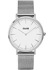 Cluse Unisex-Armbanduhr Analog Quarz Edelstahl CL18105