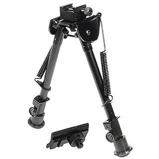 UTG Tactical OP Bipod, Rubber Feet, Center Height 8.3''-12.7''