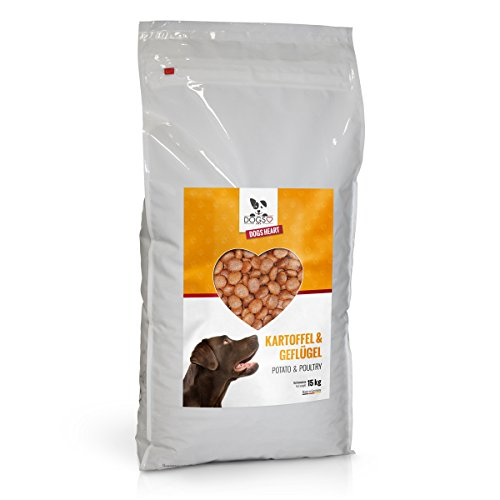 dogs heart gefl gel kartoffel 15kg mit hohem fleischanteil getreidefreies und. Black Bedroom Furniture Sets. Home Design Ideas