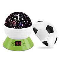 Star Projector Night Light Football Night Light