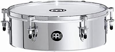 Meinl Percussion MDT13CH - Timbal (tamaño mini, 33,02 cm), color cromado