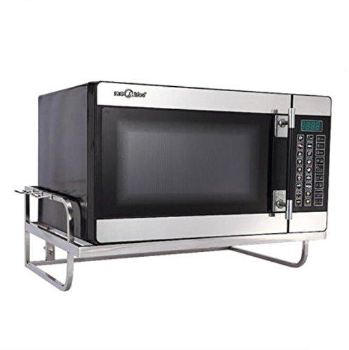 WHH Cucina forno rack, cremagliera del forno, scolapiatti, rack di stoccaggio in acciaio inox, montaggio a parete