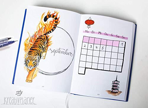 La Vida Colorista - Kreativplaner/Datumsloser Alljahresplaner im