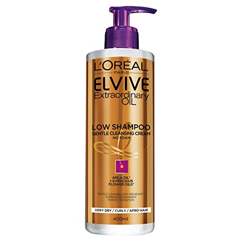 L'Oreal Elvive Curly Hair Low Shampoo 400ml