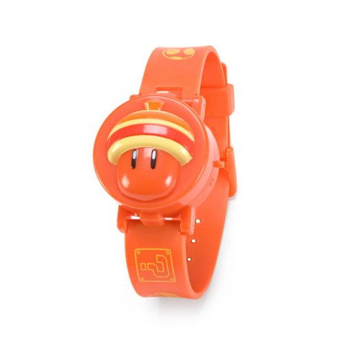 Super Mario Bros U Digital Reloj Collection - Super Acorn