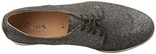 Sioux - Darina, Chaussures À Lacets Woman Grau (noir-argent)