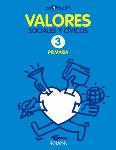 Valores Sociales y Cívicos 3. (Con razón) - 9788467836400 por Fernando Martínez Llorca
