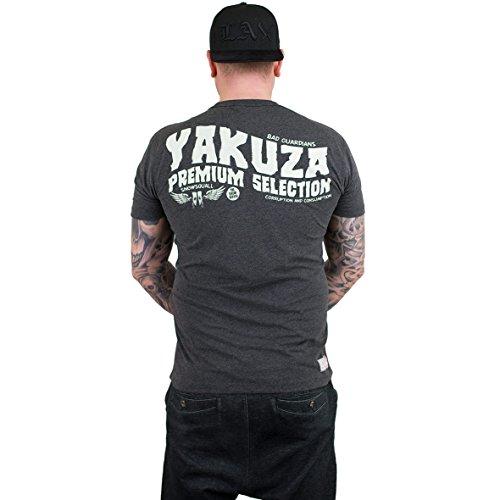 Yakuza Premium T-Shirt 2209 Schwarz