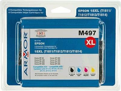 Epson Xp 410 Tintenpatronen (Armor b10238re Ink Cartridge–Ink Cartridges (Black, Cyan, Magenta, Yellow, Epson, Epson MUFC Printer ¦ Epson Expression Home XP-102, XP-202, XP-205, XP-212, XP-215, XP-225, XP-30, XP))