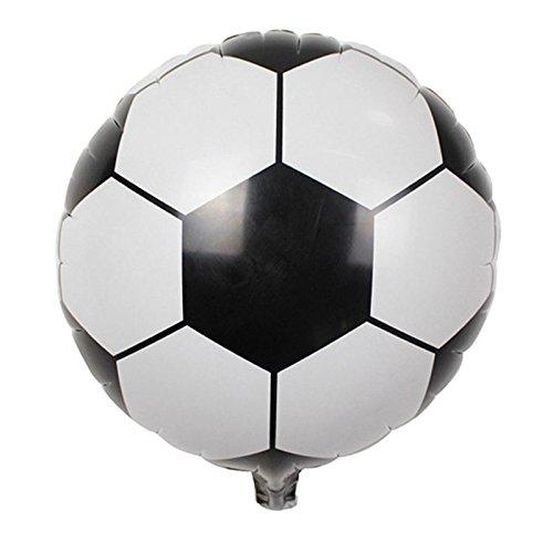 (Nrpfell 10 stuecke World Cup 18 Zoll Fussball Aluminiumfolie Ballons Fuer Kinder Geburtstagsparty Hochzeit Dekoration)