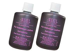 Ardell Lashtite Eyelash Adhesive Glue-Dark For Individual Lashes USA - Size 0.75 fl oz / 22ml by Ardell