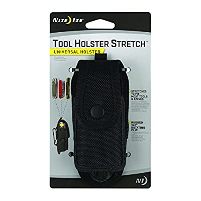 Nite Ize Tasche Tool Holster Stretch, schwarz, NI-FAMT-03-01