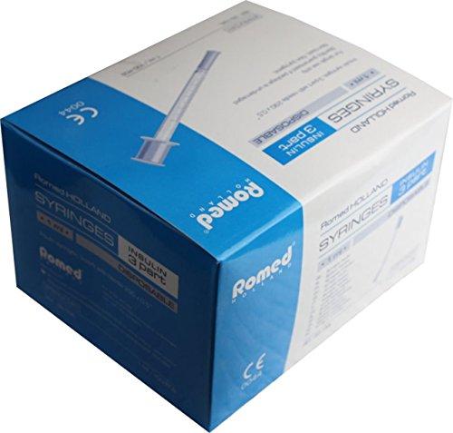 Insulinspritzen U 50 einzeln steril verpackt -