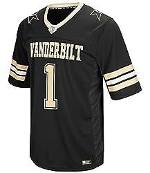 """Vanderbilt Commodores Ncaa """"Hail Mary Pass"""" Men's Football Jersey"""