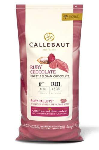 cioccolato ruby callebaut 10kg