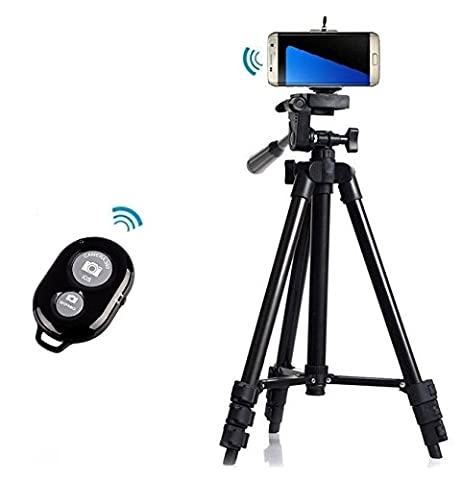 Professionnel Caméra Trépied support +Bluetooth déclencheur à distance pour Samsung