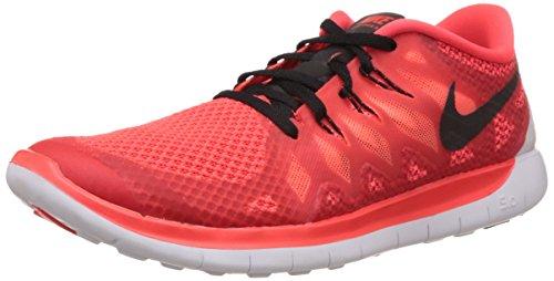 Nike Free 5.0 (Gs) Sneakers, Bambini E Ragazzi Rot (Rot/Schwarz)