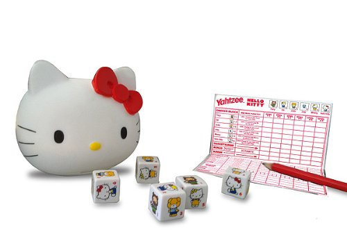 Winning Moves 10487 - Hello Kitty Yahtzee -