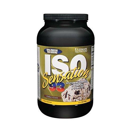 Ultimate Nutrition ISO Sensation 93 Cookies und Cream, 1er Pack (1 x 1.6 kg)