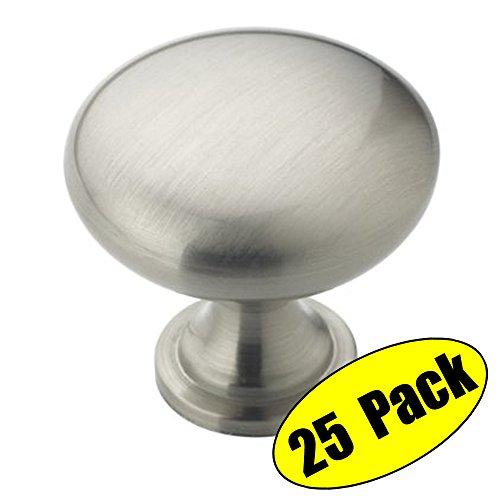 kes-cabinet-hardware-round-mushroom-knob-brushed-nickel-1-1-4-diameter-25-pack-hck300-2-p25