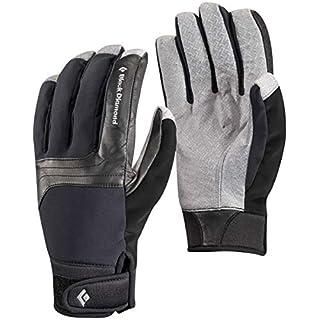 Black Diamond Arc Handschuhe für Kaltwetteraktivitäten / Warmer, wasserbeständiger Schneehandschuh aus grifffestem Material für Skitouren oder Bergsport / Unisex Black, Größe M