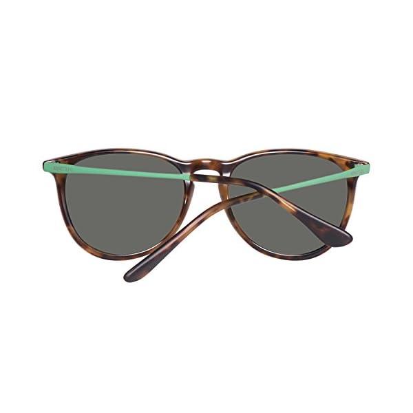 United Colors of Benetton BE983S02 Gafas de sol, Trtois/Green, 50 Unisex