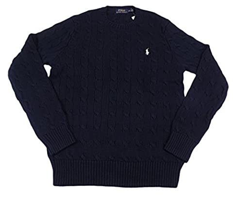 Polo Ralph Lauren Men's Pony Cable Knit Crewneck